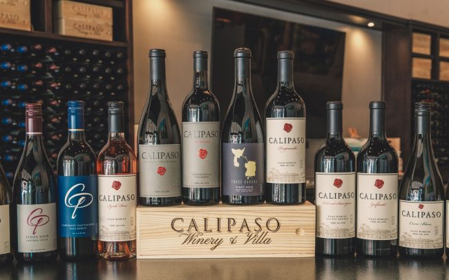 CaliPaso line-up of wines