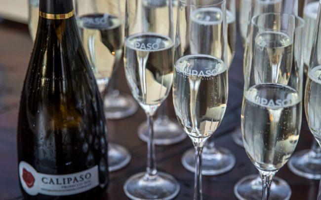 CaliPaso sparkling wine